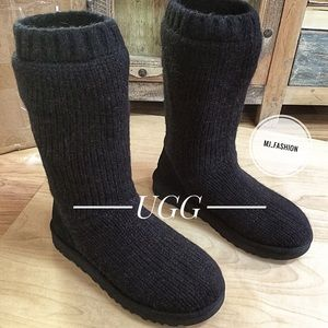 Authentic UGG Tall Knitted Boots NWT